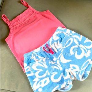 Mini boden shorts set 6y